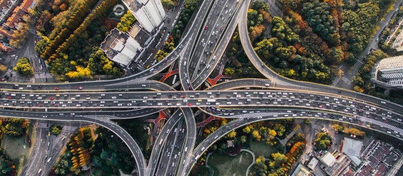 long networks of highways